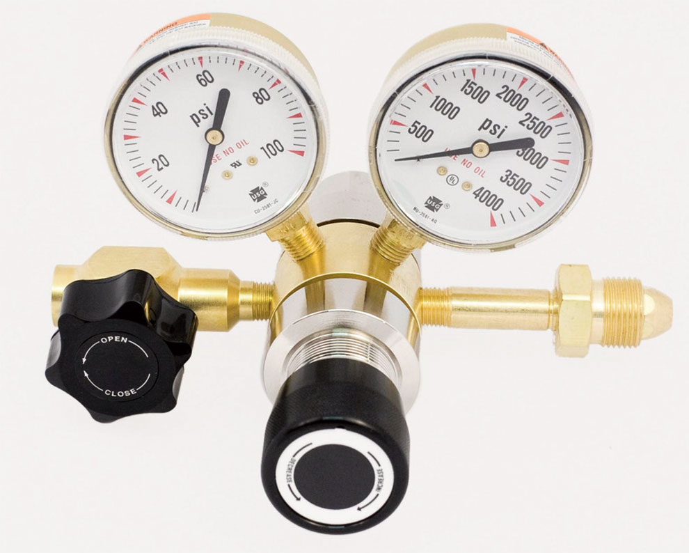 Brass 2-Stage Gas Regulator